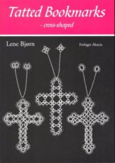 9788778470621 Bjorn Lene - Akacia Forlaget - Tatted Bookmarks - Cross-shaped